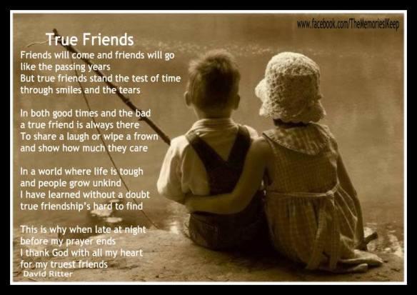 heartwarming friendship poems