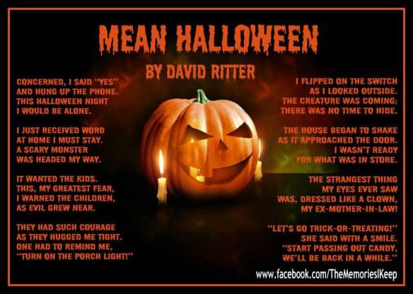 Mean Halloween